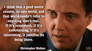 ... December 4th, 2014 Leave a comment topic Christopher Walken Quotes