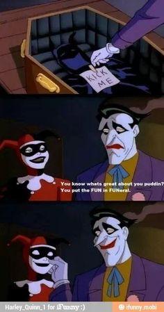 Harley Quinn And Joker Love Quotes Harley quinn and the joker