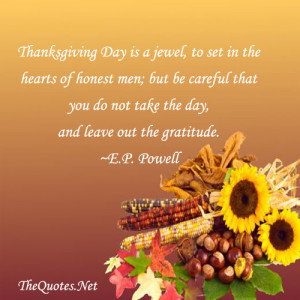 thanksgiving day is jewel