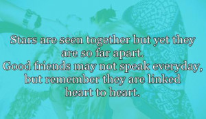 Long Distance Friendship Quotes Tumblr