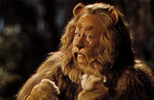 The Cowardly Lion, The Wizard of Oz