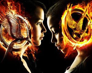 The Hunger Games. Katniss and Rue 2 by StalkerAE