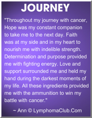 Lymphoma Cancer Journey
