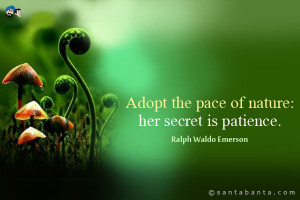 Nature Quotes Emerson Nature quotes
