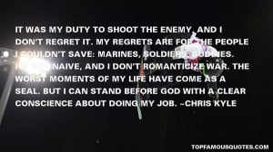Favorite Chris Kyle Quotes