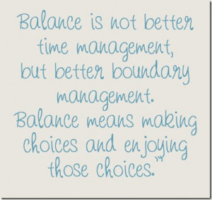 Are you Affirming Balanced or Hectic Life?