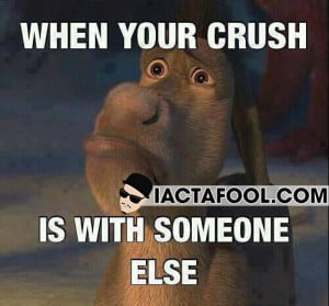 When Your Crush Is With Someone Else