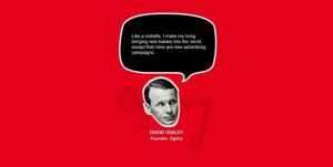 david ogilvy 32 Great Quotes From Advertising & Marketing Experts