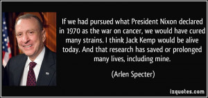 More Arlen Specter Quotes