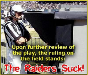 raiders suck Image