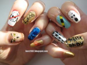 Kpop inspired nails: Fantastic Baby (BIG BANG)