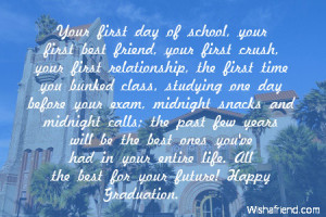 Congratulations Graduation Quotes Happy graduation.