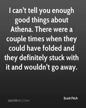 Athena Quotes