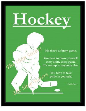 Inspirational Soccer Quotes For Boys Motivational hockey boy