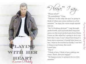 Photo Teasers: Playing with Her Heart by Lauren Blakely