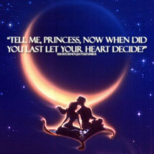 Out of all Disney movies, Aladdin was my favorite as a kid and still ...