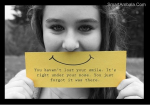 Smile IS An Expression