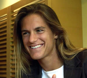 can raise you Amelie Mauresmo, her jawline would have made a male ...
