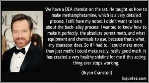 Quotes About Methamphetamine