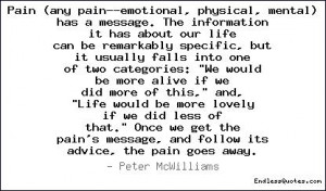Pain (any pain--emotional, physical, Quotes, Sayings & Quotations