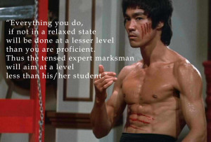 Awesome Bruce Lee Quote Wallpaper Wallpaper with 1188x805 Resolution
