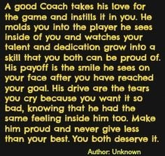 thank you coach more softball coaches quotes quotes about coaches best ...