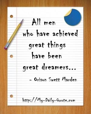 Dream BIG! #success #achieve #inspiration #quotes