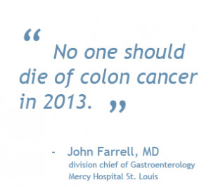 st louis colorectal cancer is the second leading cancer killer in the ...