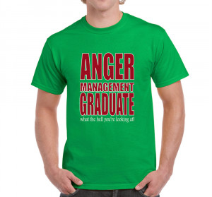 Details about Mens Funny Sayings Slogans tshirts Anger Management On ...