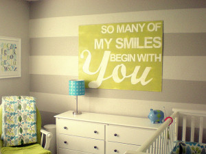 Love these nursery and wall sign ideas! They just make me happy. Would ...