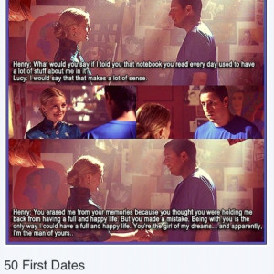 50 First Dates Quotes 50 first dates