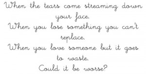 coldplay, fix you, quotes, text