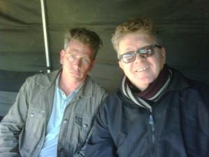 Ben Mendelsohn and Kimble Rendall on Killer Elite