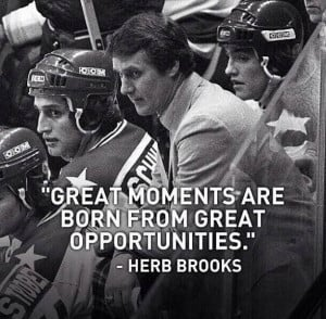Herb Brooks - Coach of the Gold Medal 1980 U.S.A Olympic Hockey Team