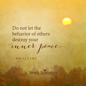 keeping inner peace by dalai lama keeping inner peace by dalai lama