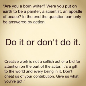 Are you a born writer?