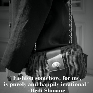 """... somehow, for me, is purely and happily irrational."""" — Hedi Slimane"""