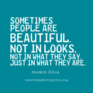 Beauty quotes, people are beautiful quotes
