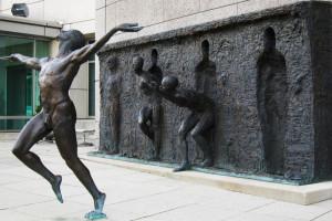 Freedom/Break the Mould Artist: Zenos Frudakis