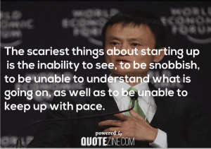 Jack MA Business Quotes