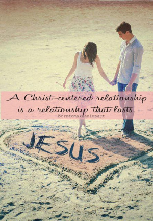 ... in a relationship, but not in the way of giving up your purity