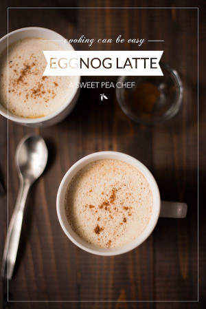 Here's a tasty (better-than-Starbucks!) Eggnog Latte. It's so easy to ...