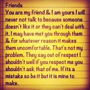 Friends no matter what