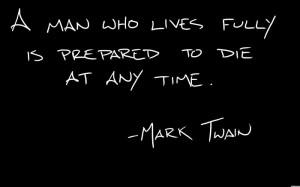 Top 25 Mark Twain Quotes