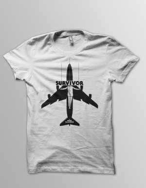 Survivor' T-shirts Are Now Taking Off - Pre-Order Period Over!