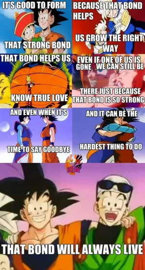 What are some life events you learned from Dragon Ball Z
