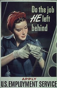 Women during WWII You go girls.