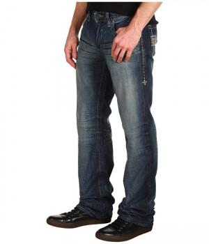 Affliction Clothing Men Raw Seattle Denim Jeans