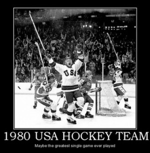 Miracle Hockey Quotes 1980 us hockey team - maybe
