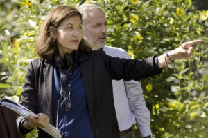 Still of Anne Fontaine and Fabrice Luchini in Gemma Bovery (2014)